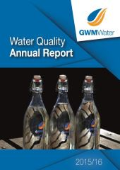 2015 16 Water Quality Annual Report