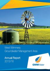 2015 16 West Wimmera GMA Annual Report
