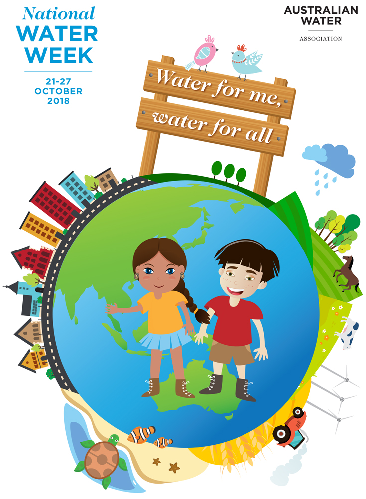 National Water Week 2018 A3 Poster web