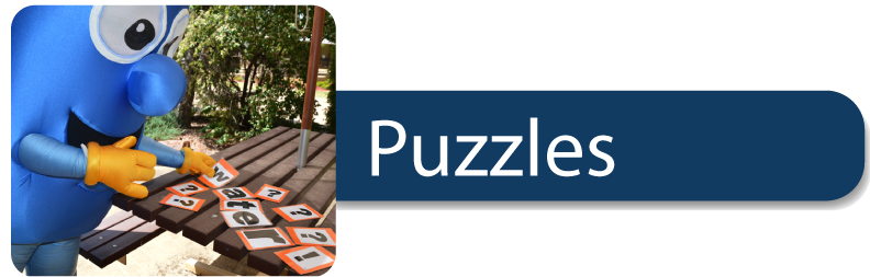 puzzles button for website kids page